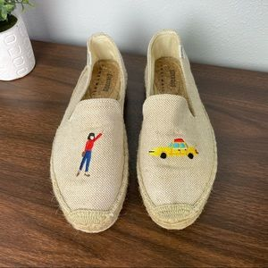 Soludos x Lucy mail taxi girl espadrille flats 9